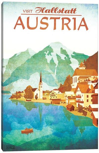 Austria-Hallstatt Canvas Art Print