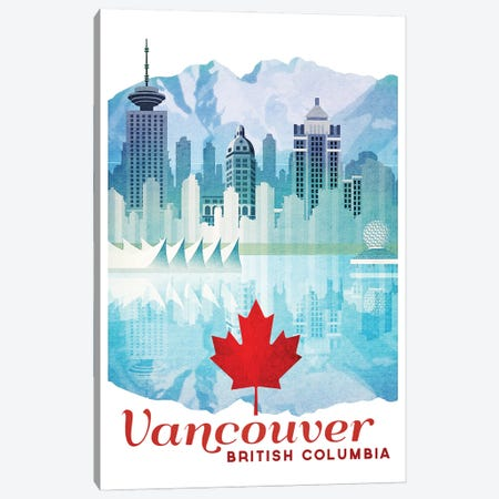 Canada-Vancouver 3-Piece Canvas #ISS5} by Missy Ames Art Print
