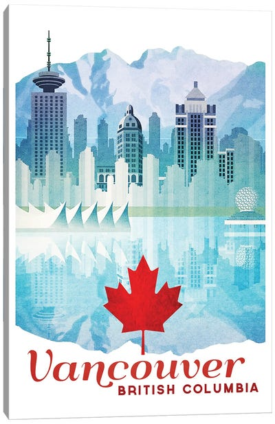 Canada-Vancouver Canvas Art Print