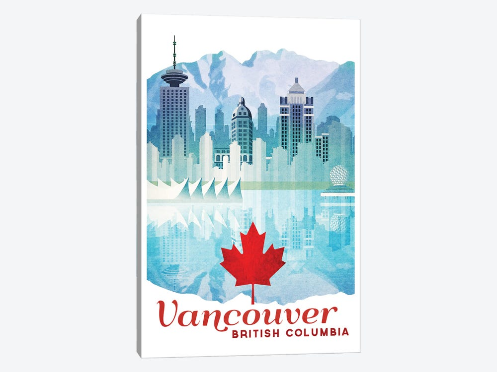 Canada-Vancouver by Missy Ames 1-piece Canvas Art Print