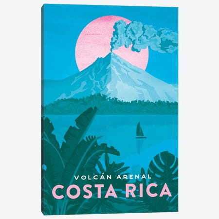 Costa Rica-Arenal Canvas Print #ISS6} by Missy Ames Canvas Print