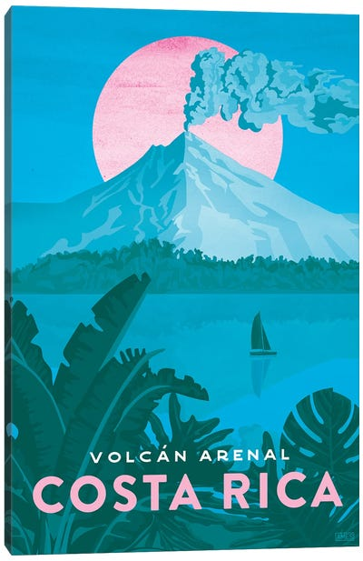 Costa Rica-Arenal Canvas Art Print