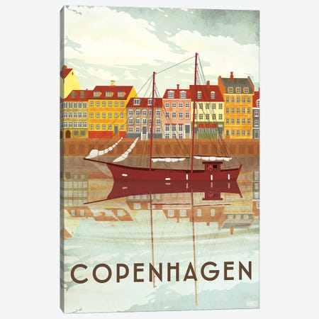 Denmark-Copenhagen Port Canvas Print #ISS7} by Missy Ames Canvas Print