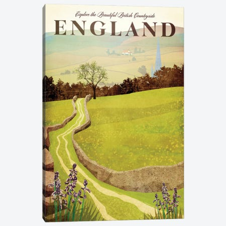 England-British Countryside Canvas Print #ISS8} by Missy Ames Canvas Art