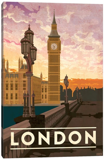England-London Canvas Art Print
