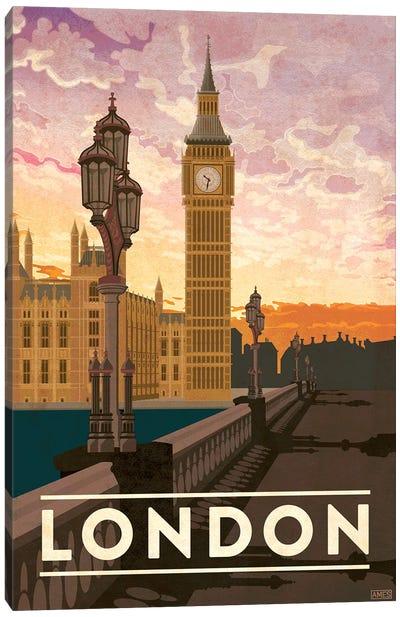England-London Canvas Art Print
