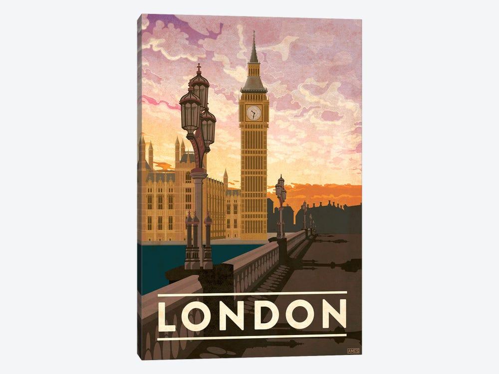 England-London by Missy Ames 1-piece Canvas Art Print