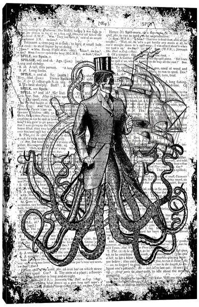 Oddity Of The Sea ''Gentleman'' Canvas Art Print