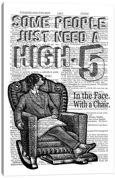 High Five! Canvas Art Print