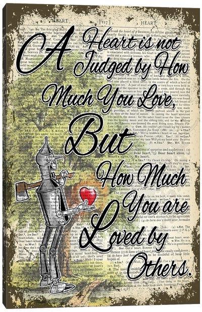 The Wizard Of Oz ''tin Man'' Canvas Art Print