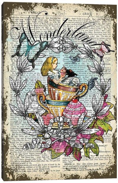 Alice ''Wonderland'' Canvas Art Print