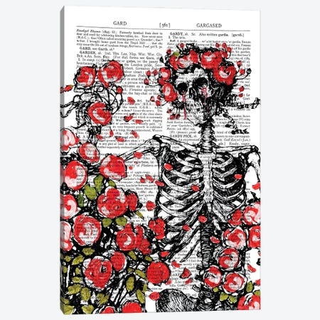 Death In The Garden Canvas Print #ITF33} by In the Frame Shop Art Print