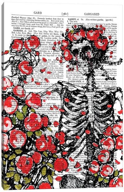 Death In The Garden Canvas Art Print