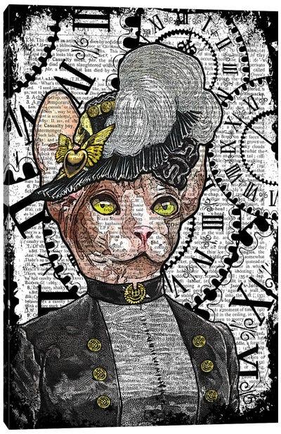 Steampunk Sphynx Canvas Art Print