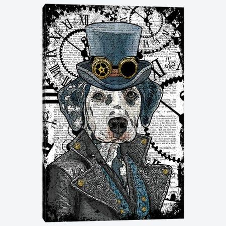 Steampunk Dalmatian Canvas Print #ITF47} by In the Frame Shop Art Print