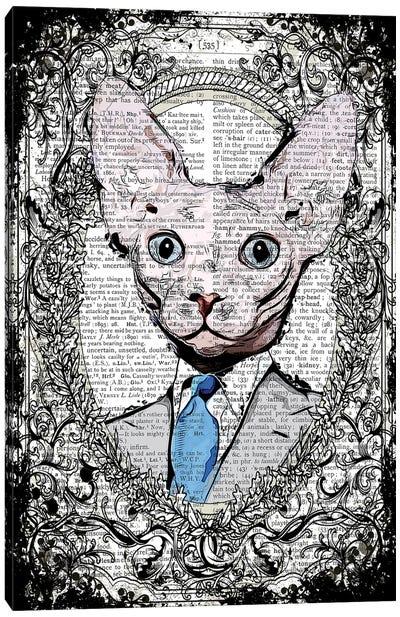 Mr Sphynx Canvas Art Print