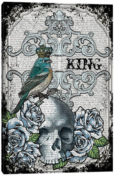 King Bird Canvas Art Print