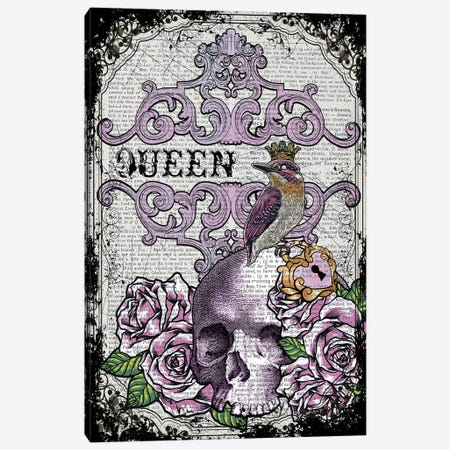 Queen Bird Canvas Print #ITF77} by In the Frame Shop Canvas Wall Art