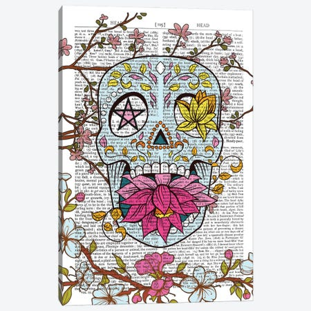 Mexican Skull Canvas Print #ITF79} by In the Frame Shop Canvas Art Print