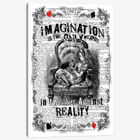 Alice ''Imagination'' Canvas Print #ITF83} by In the Frame Shop Canvas Artwork