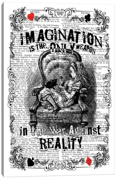 Alice ''Imagination'' Canvas Art Print