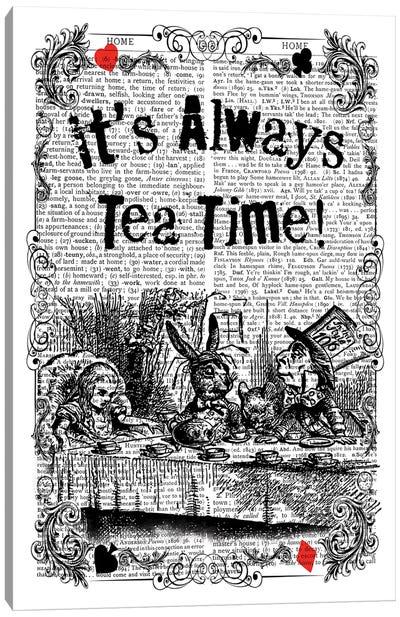 "Alice In Wonderland ''Mad Tea Party"" Canvas Art Print"