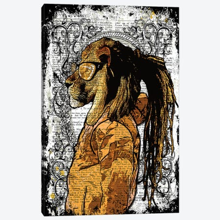 Dreadlocks Lion Canvas Print #ITF94} by In the Frame Shop Canvas Art
