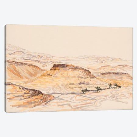 Nahal Nizana Canvas Print #ITR11} by Itzu Rimmer Art Print
