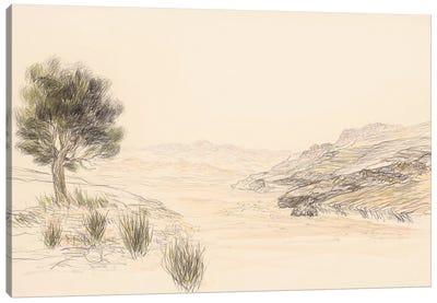 Nahal Zin Canvas Art Print