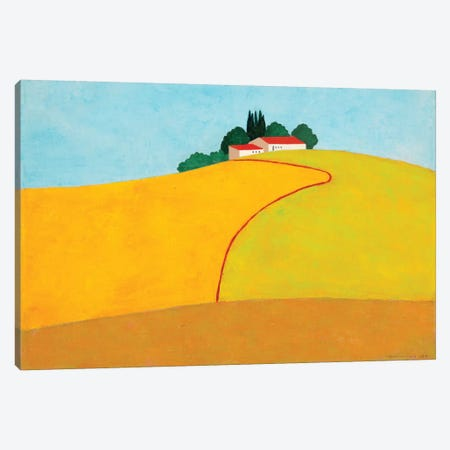 Negbah #2 Canvas Print #ITR14} by Itzu Rimmer Canvas Art