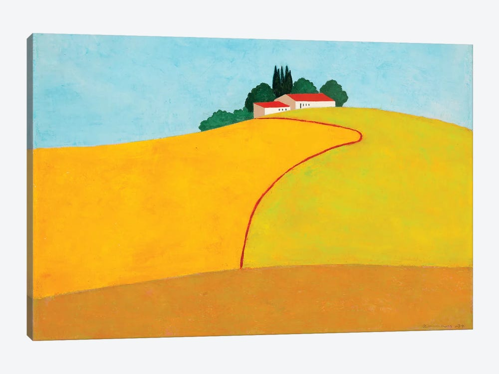 Negbah #2 by Itzu Rimmer 1-piece Canvas Art