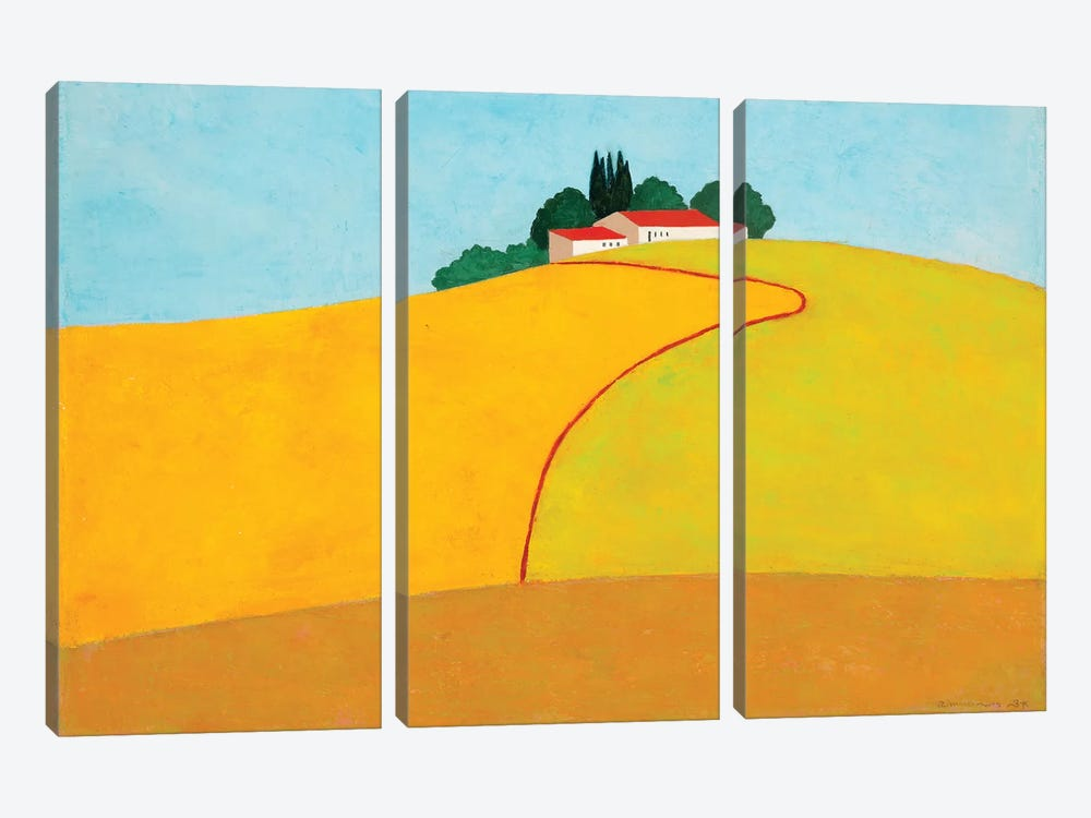 Negbah #2 by Itzu Rimmer 3-piece Canvas Wall Art