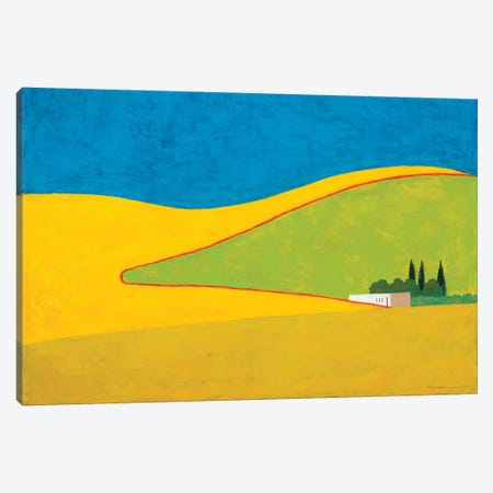 Gevaram Canvas Print #ITR5} by Itzu Rimmer Art Print