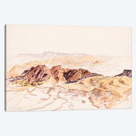 Makhtesh Ramon Canvas Print #ITR7} by Itzu Rimmer Art Print