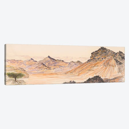Nahal Gevanim Canvas Print #ITR9} by Itzu Rimmer Canvas Wall Art