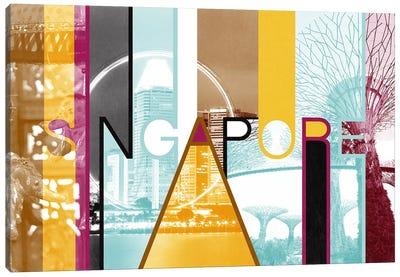 Fusion of Cultures - Singapore Canvas Art Print