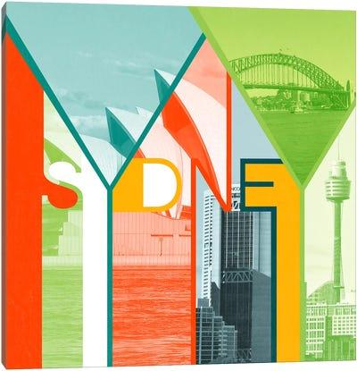 The Harbour City - Sydney Canvas Art Print