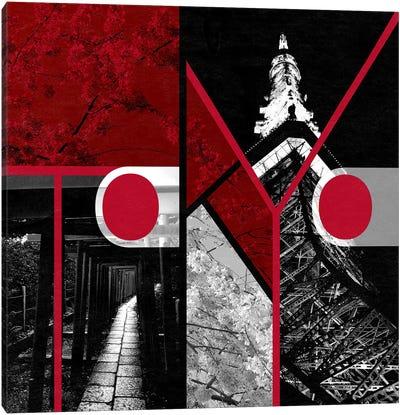 Metropolitan Prefecture of Yamato - Tokyo Canvas Print #ITT12