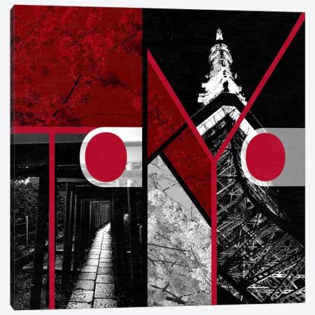 Metropolitan Prefecture of Yamato - Tokyo Canvas Print #ITT12} by 5by5collective Art Print