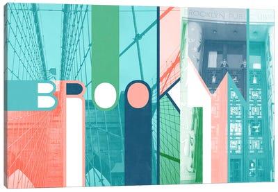 The Breuckelen Borough - Brooklyn Canvas Art Print
