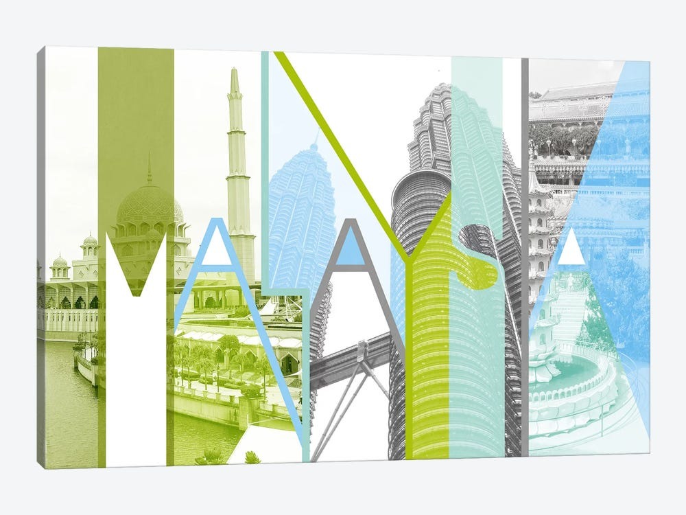 Kingdom of Unity - Malaysia by 5by5collective 1-piece Art Print