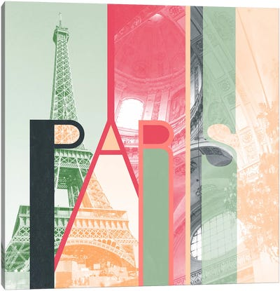 The Fairy City of Inspiration - Paris Canvas Art Print