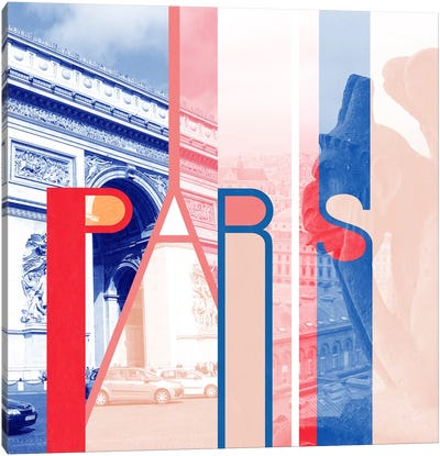 The Fairy City of Art - Paris Canvas Art Print