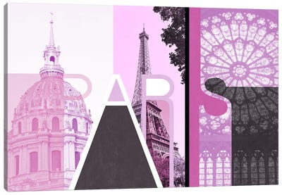 The Fairy City of Love - Paris Canvas Art Print