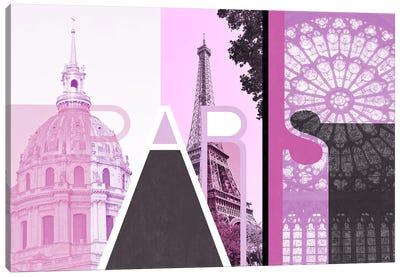 The Fairy City of Love - Paris Canvas Art Print