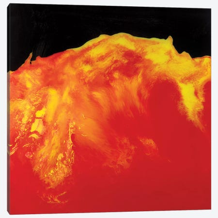 Lava Canvas Print #ITU13} by Igor Turovskiy Canvas Artwork