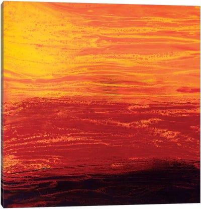 Rising Sun Canvas Art Print