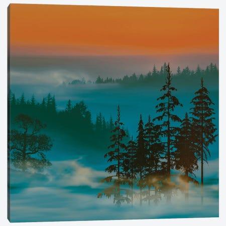 Colorful Artistic Landscape Canvas Print #IVG222} by Ievgeniia Bidiuk Canvas Wall Art