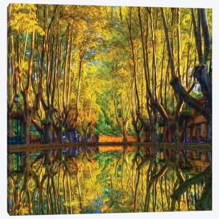 Beautiful Autumn Landscape Canvas Print #IVG239} by Ievgeniia Bidiuk Art Print