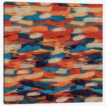 Horizontal Brush Strokes Canvas Print #IVG23} by Ievgeniia Bidiuk Canvas Artwork